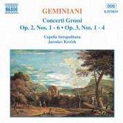 Geminiani: Concerti Grossi, Vol.  1 - CD