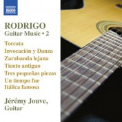 Jeremy Jouve: Rodrigo: Guitar Works, Vol. 2 - CD