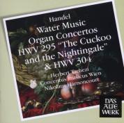 Nikolaus Harnoncourt: Handel: Water Music, Organ Concertos - CD