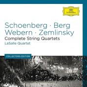 Lasalle Quartet: Schoenberg / Berg / Webern /  Zemlinsky: Complete String Quartets - CD