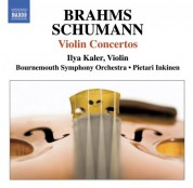 Ilya Kaler: Brahms, J. / Schumann, R.: Violin Concertos - CD
