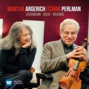 Martha Argerich, Itzhak Perlman: Schumann, Bach, Brahms - Plak
