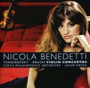 Nicola Benedetti, Czech Philharmonic Orchestra, Jakub Hrusa: Tchaikovsky-Bruch: Violin Concertos - CD