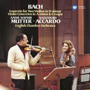 Anne-Sophie Mutter, Salvatore Accardo: Bach: Con. for two Violins - CD