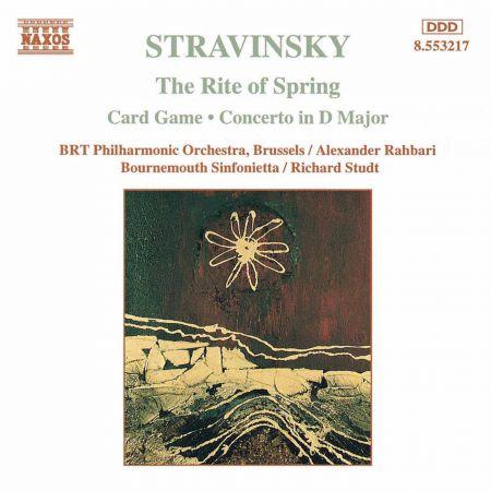 Stravinsky: Rite of Spring (The) / Card Game - CD