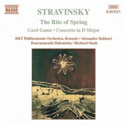 Stravinsky: Rite of Spring (The) / Card Game - CD