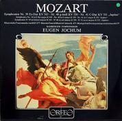 Eugen Jochum, Bamberger Symphoniker: Mozart: Symphony No. 39 & 40 - Plak