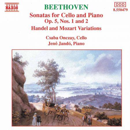 Beethoven: Cello Sonatas Nos. 1 and 2 - CD