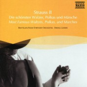 Bratislava CSR Symphony Orchestra: Strauss II: Most Famous Waltzes, Polkas, and Marches - CD