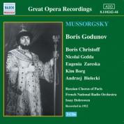 Mussorgsky: Boris Godunov (Christoff, Gedda) (1952) - CD