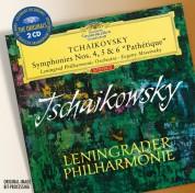Evgeny Mravinsky, Leningrad Philharmonic Orchestra: Tchaikovsky: Symphonies 4, 5, 6 - CD