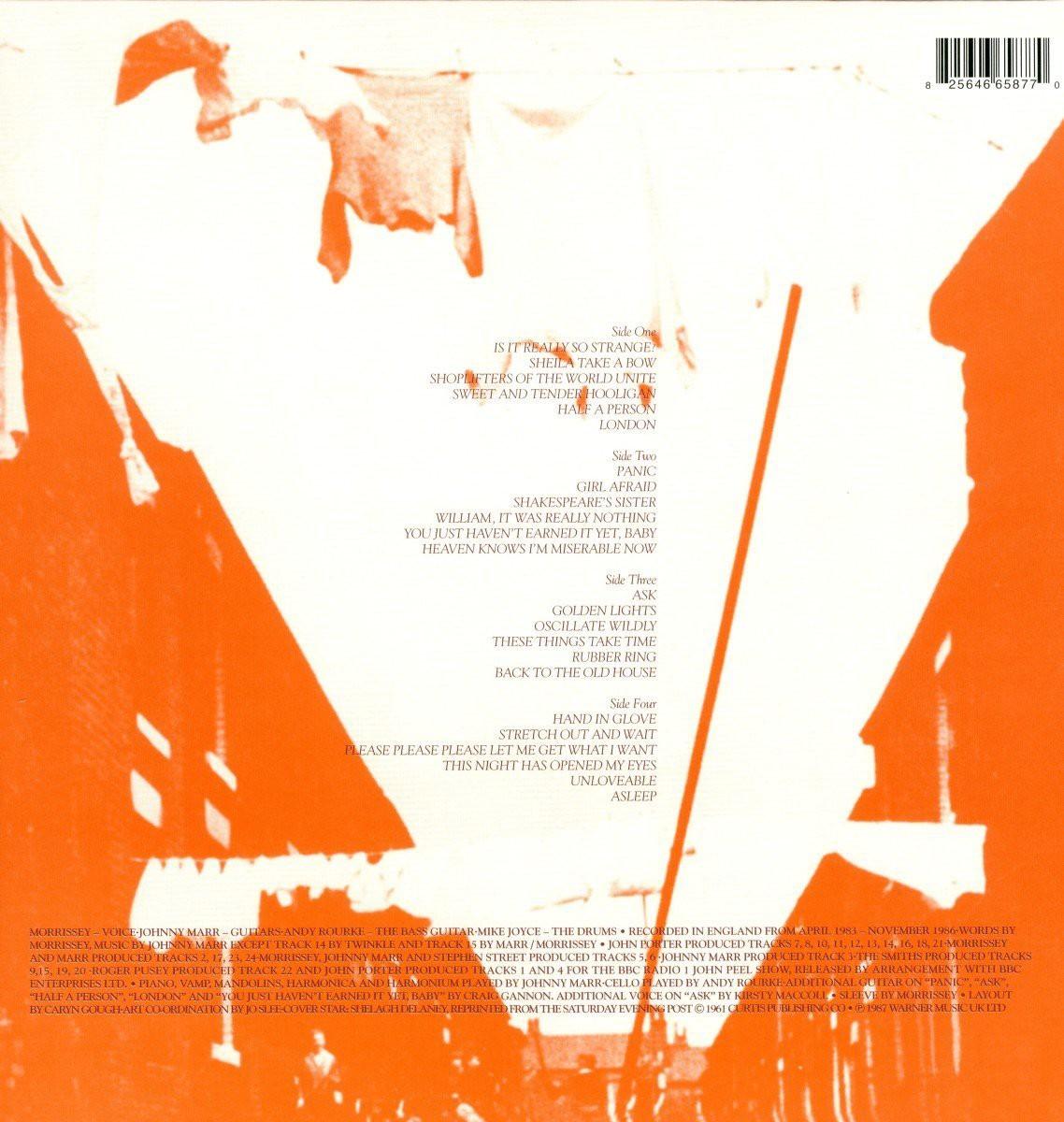 The Smiths Louder Than Bombs Plak Opus3a