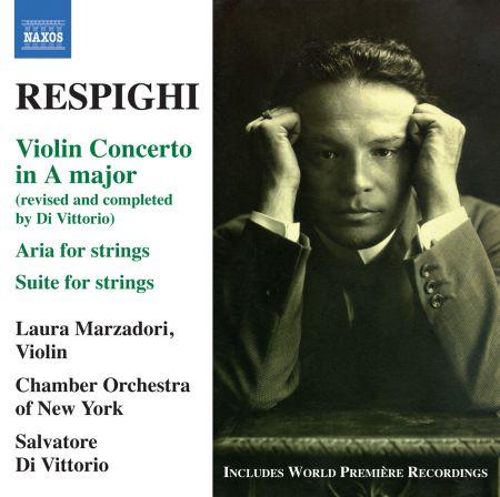 Salvatore Di Vittorio: Respighi: Violin Concerto in A major - CD