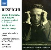 Salvatore Di Vittorio: Respighi: Violin Concerto in A major - CD