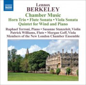 members New London Chamber Ensemble: Berkeley: Chamber Music - CD