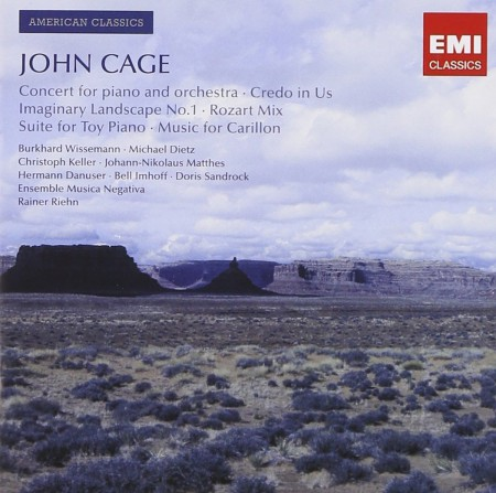 Çeşitli Sanatçılar: John Cage: Concerto for piano and orchestra; Credo in Us; Imaginary Landscape No. 1; Rozart Mix - CD