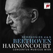 Nikolaus Harnoncourt, Concentus Musicus Wien: Beethoven: Symphonies 4 & 5 - CD