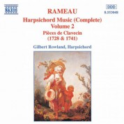 Rameau: Harpsichord Music, Vol.  2 - CD