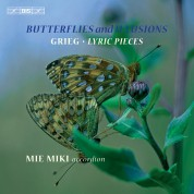 Mie Miki: Grieg: Butterflies and Illusions - Lyric Pieces - CD