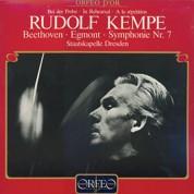 Staatskapelle Dresden, Rudolf Kempe: Rudolf Kempe bei der Probe - Beethoven: Egmont-Overture; Sym. No. 7; Interviews 1956-1975 - Plak