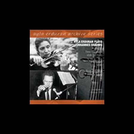 Ayla Erduran: Brahms: Three Sonatas for Violin and Piano - CD