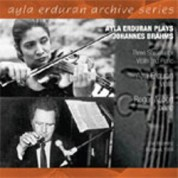 Ayla Erduran: Brahms: Three Sonatas for Violin and Piano - CD