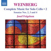 Josef Feigelson: Weinberg: Complete Cello Music, Vol. 2 - CD