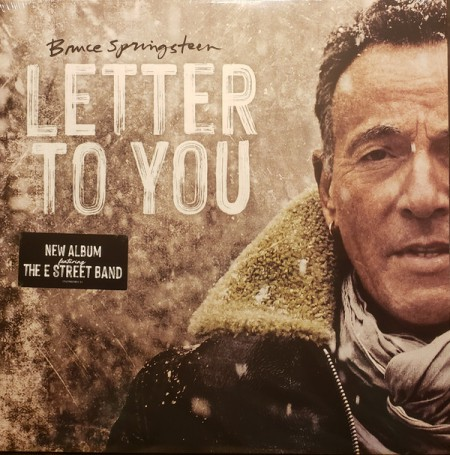 Bruce Springsteen: Letter To You - Plak