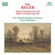 Reger: Mozart Variations Op. 132 / Hiller Variations Op. 100 - CD