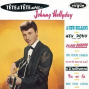 Johnny Hallyday: Tête À Tête Avec Johnny Hallyday - Plak