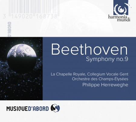 Philippe Herreweghe: Beethoven: Symphonie No.9 - CD