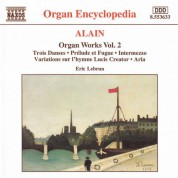 Alain: Organ Works, Vol.  2 - CD