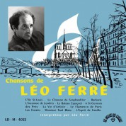 Léo Ferré: Chansons de Leo Ferre - Plak