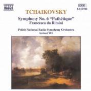 Polish National Radio Symphony Orchestra: Tchaikovsky: Symphony No. 6, 'Pathetique' - CD