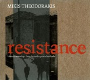 Mikis Theodorakis: Resistance-Mikis - CD