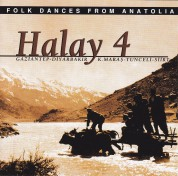 Çeşitli Sanatçılar: Halay 4 (Gaziantep, Diyarbakır, Dersim, Siirt) - CD
