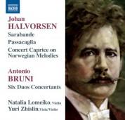 Natalia Lomeiko, Yuri Zhislin: Halvorsen & Bruni: Duos - CD
