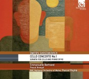 Emmanuelle Bertrand, Pascal Amoyel, BBC National Orchestra of Wales, Pascal Rophé: Shostakovich: Cello Concerto no.1 - CD