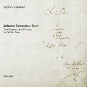 Gidon Kremer: Johann Sebastian Bach: The Sonatas and Partitas for violin solo - CD