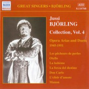 Jussi Björling Collection, Vol. 4: Opera Arias & Duets (Recordings 1945-1951) - CD