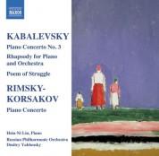 Hsin-ni Liu: Kabalevsky: Piano Concerto No. 3, Rimsky-Korsakov: Piano Concerto - CD