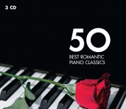 Çeşitli Sanatçılar: 50 Best Romantic Piano Classics - CD