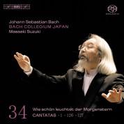 Bach Collegium Japan, Masaaki Suzuki: J.S. Bach: Cantatas, Vol. 34 - SACD