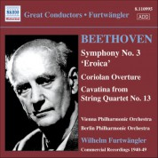Vienna Philharmonic Orchestra: Beethoven: Symphony No. 3 / Coriolan Overture - CD