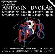 Gothenburg Symphony Orchestra, Myung-Whun Chung: Dvorak: Symphonies No.7 and 8 - CD