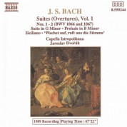Bach, J.S.: Orchestral Suites Nos. 1 and 2, Bwv 1066-1067 - CD