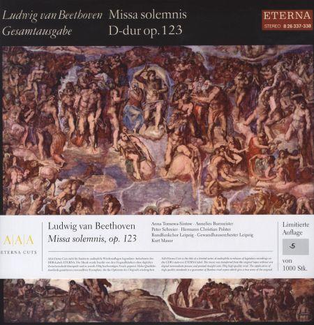 Beethoven: Missa solemnis in D Major, Op. 123 - Plak
