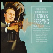 Henryk Szeryng, Charles Reiner: Treasures for the Violin - Plak