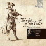 Andrew Manze: The Art of the Violin - CD