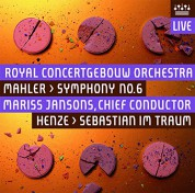 Mariss Jansons, Royal Concertgebouw Orchestra: Mahler, Henze: Symphony No 6, Sebastian im Traum - SACD